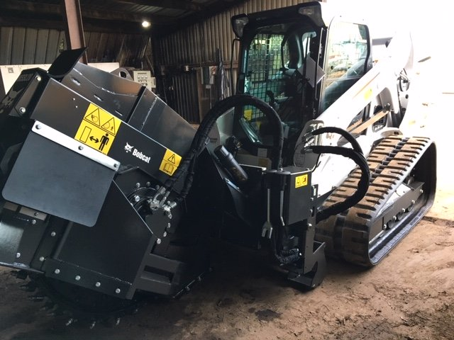 Bobcat T590 Complete with WS20 Rock Wheel